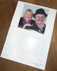 Alzheimers calendar